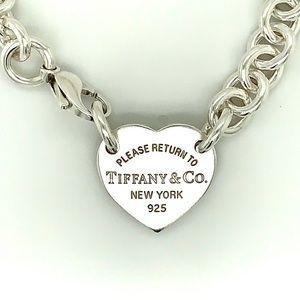 Tiffany & Co. Return To Tiffany Heart Tag Choker